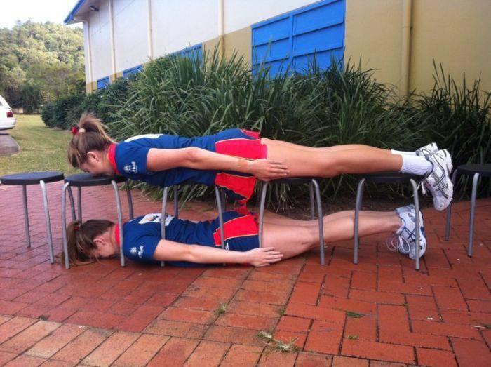 Planking - zabawa w leżenie 57