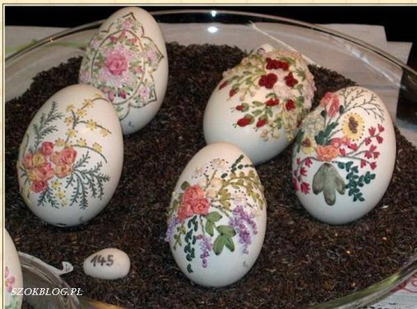 Haftowanie na skorupie jaj 6
