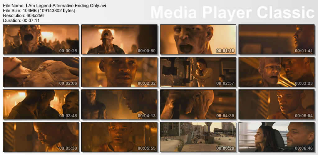 I Am Legend Alternate Ending Only ( preview 0