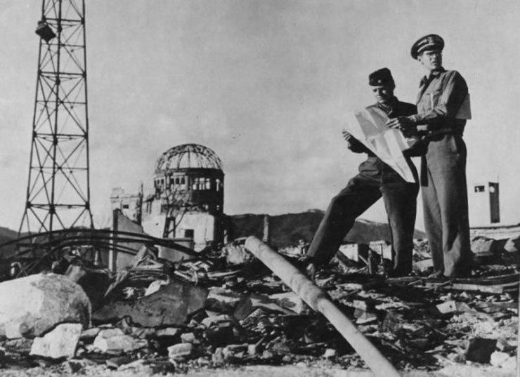 Hiroszima po bombardowaniu. 29