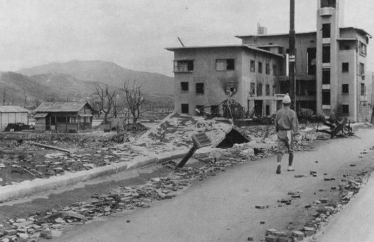 Hiroszima po bombardowaniu. 15
