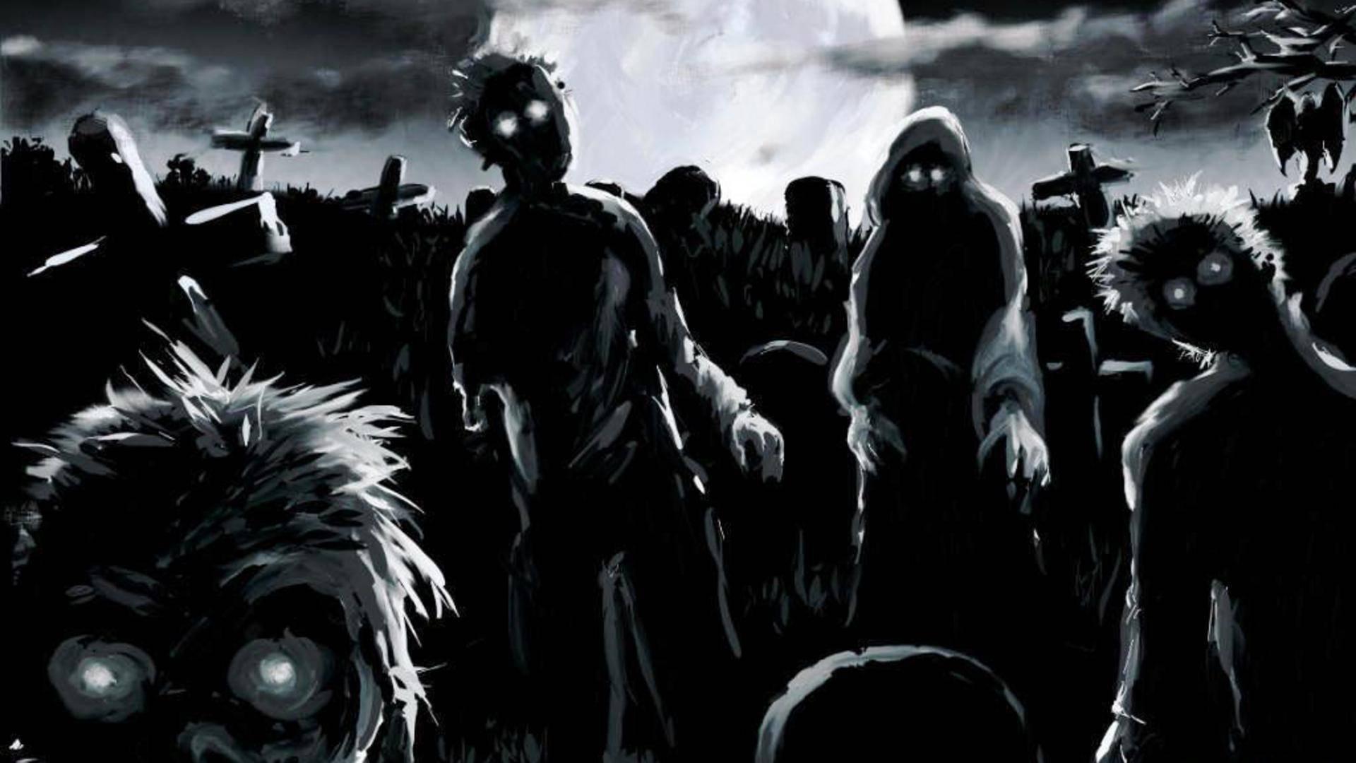 Fondos De Pantalla Wallpapers Gratis Zombies Wallpaper Full Hd