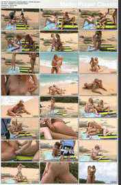 Blue Angel, Jayme Langford - Paradise'09 Photoshoot Video - ALSScan (2012/ HD 1080p)