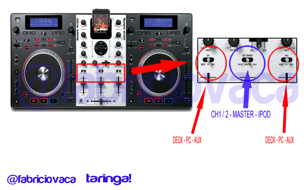 Como configurar virtual dj 7 pro - 5.1 placa