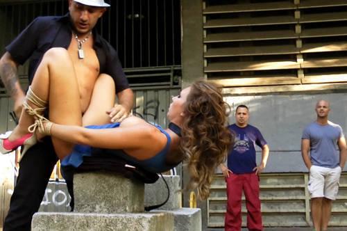 Cristal Cherry : Spanish Slut out for Promenade - Kink/ PublicDisgrace (2012/ HD 720p)