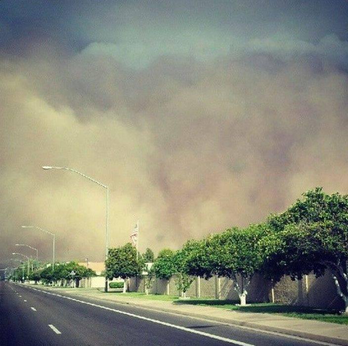 Burza piaskowa w Arizonie 11