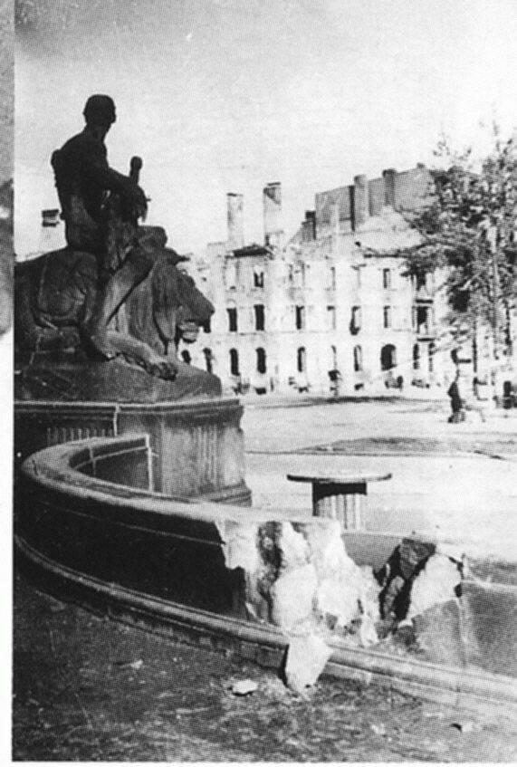 Wrocław  1945 Zniszczenia 25