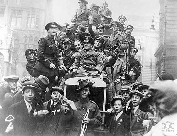 Zakończenie I wojny światowej 14