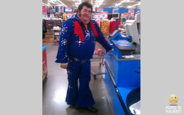 Najdziwniejsi klienci z WalMart #7 35