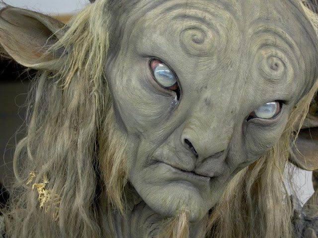 Charakteryzacja z filmu Labirynt Fauna 25