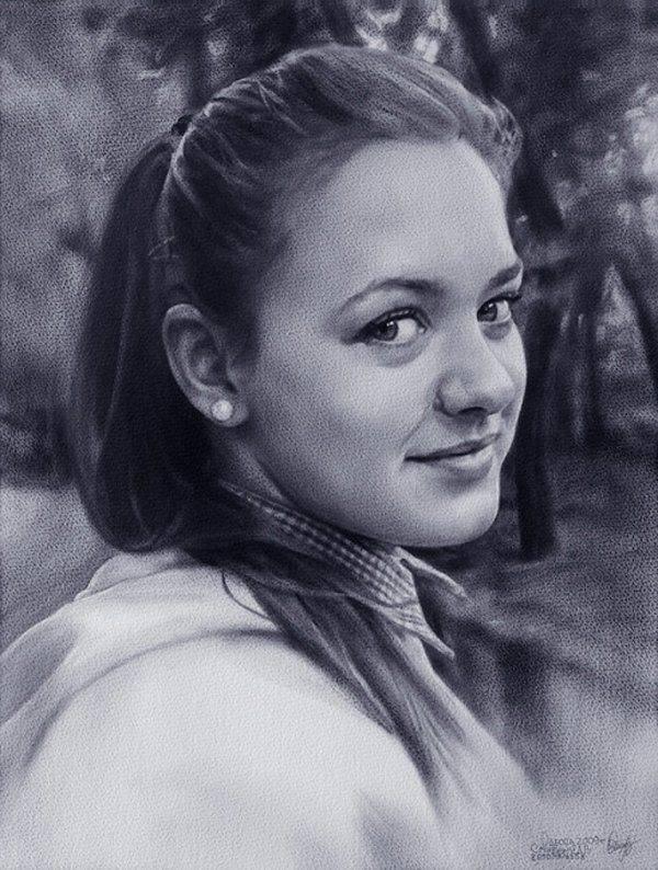 Portrety wykonane ołówkiem #2 9