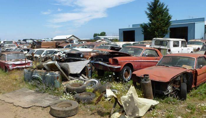 Cmentarzysko samochodów #2 46