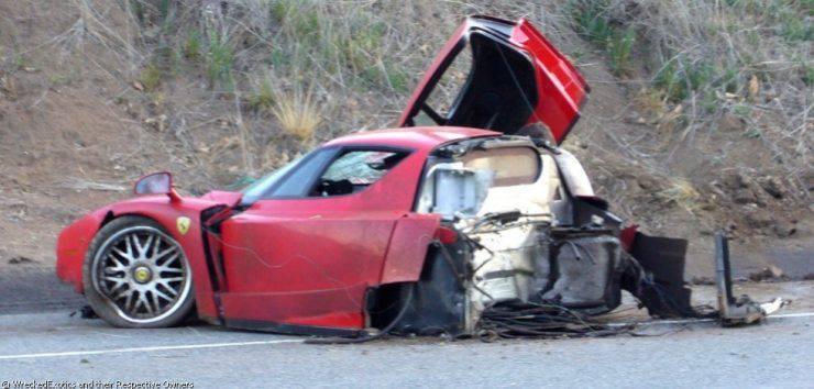 Wypadki najdroższych samochodów 11