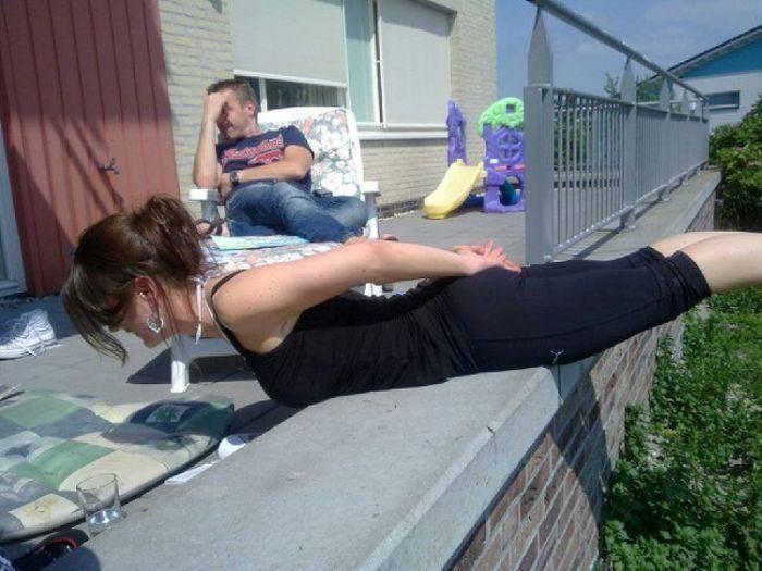 Planking - zabawa w leżenie 49