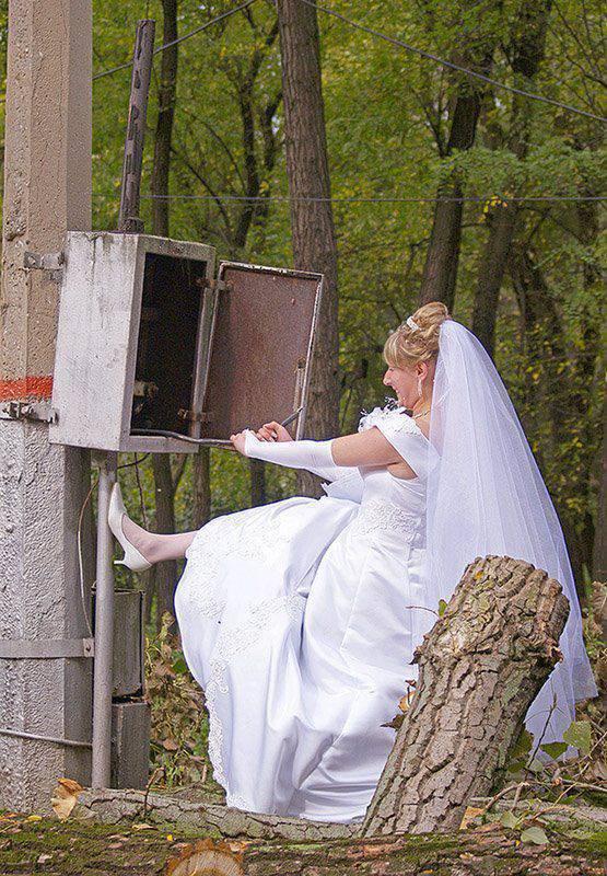 Najdziwniejsze zdjęcia ślubne #3 6