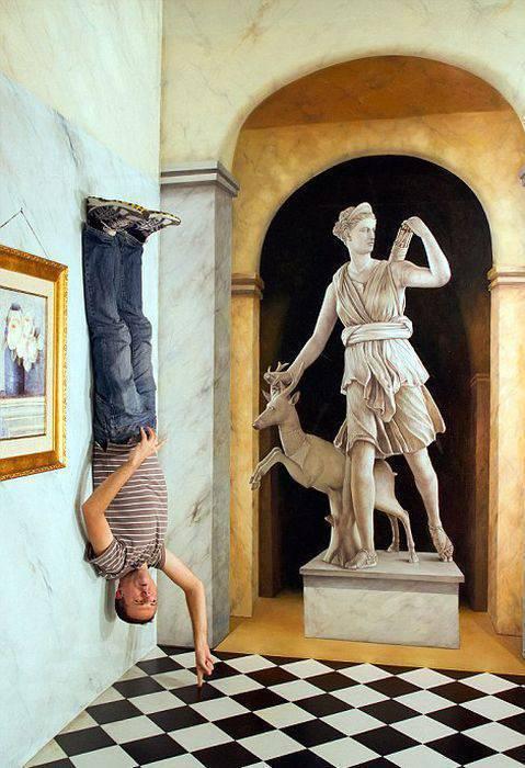 Iluzje optyczne w muzeum 3