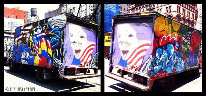 Graffiti na samochodach 16