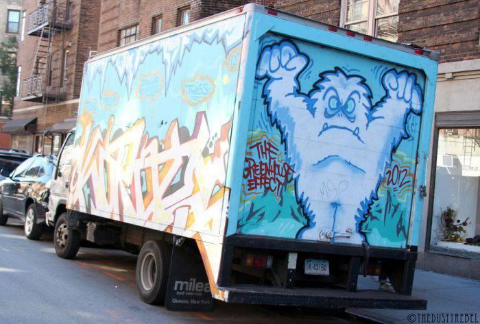 Graffiti na samochodach 6