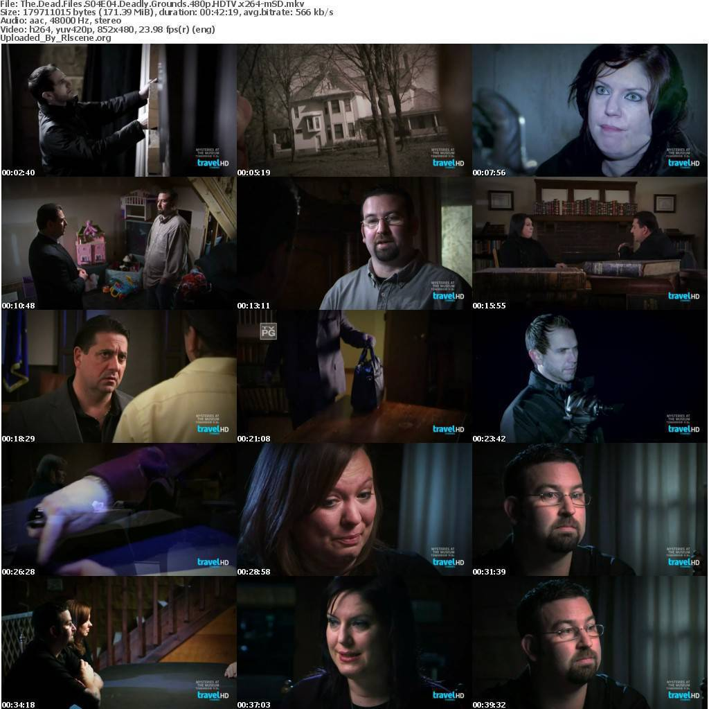 File: The.Dead.Files.S04E04.Deadly.Grounds.480p.HDTV.x264-mSD.mkv