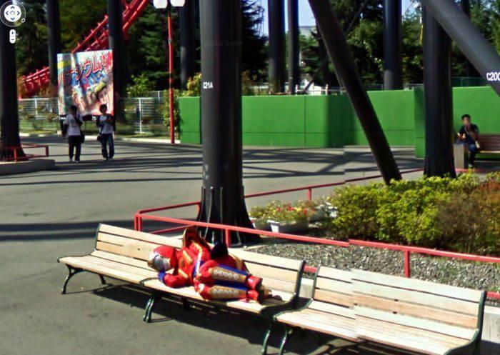 Nietypowe zdjęcia z Google Street View 9