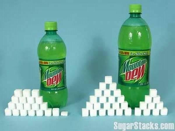 Ile cukru zawierają popularne produkty spożywcze ? 30