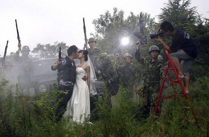 Najdziwniejsze zdjęcia ślubne 12