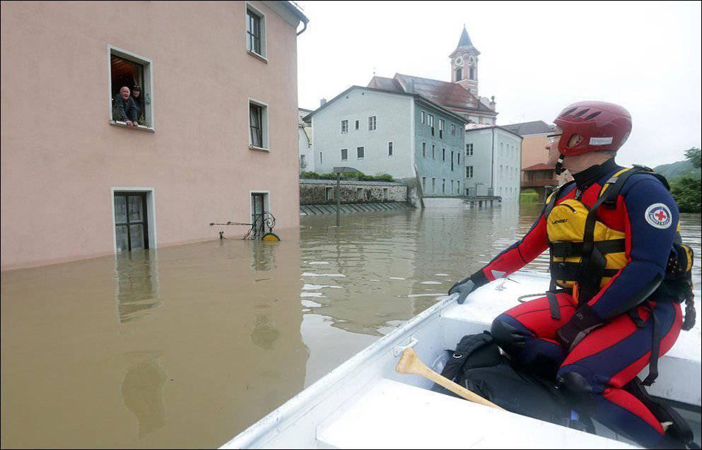 Powodzie w Europie 6