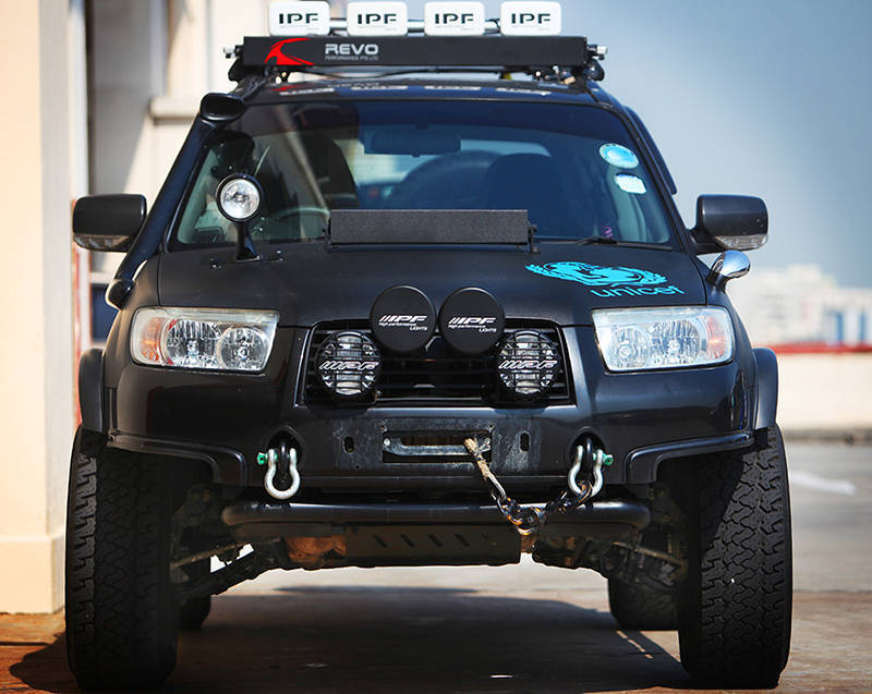 Crazily Lifted Forester - Meet Noisy Boy - Subaru Forester ...