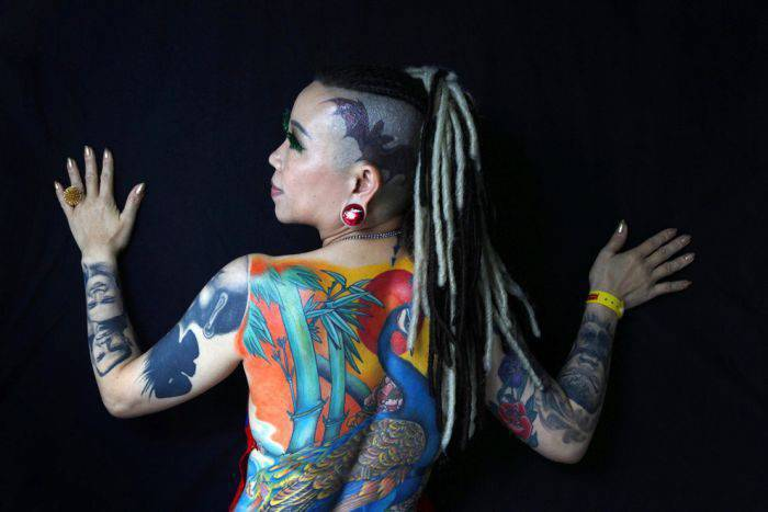 Hardcorowe tatuaże 13