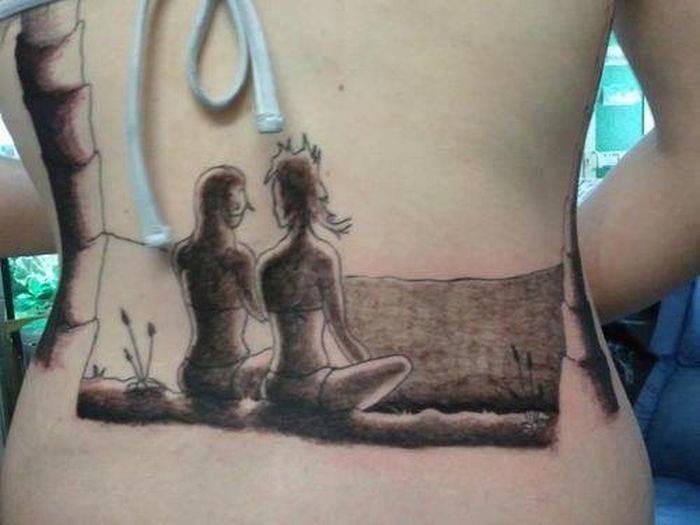 Nietypowe tatuaże #3 9