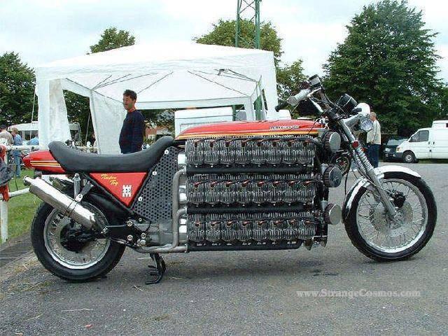 Najdziwniejsze motocykle 11