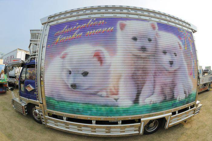 Japońskie ciężarówki 21