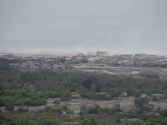 Miasto po erupcji wulkanu 18