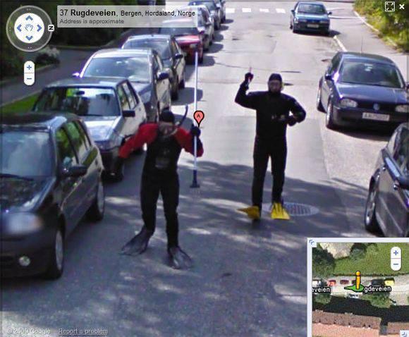 Najzabawniejsze zdjęcia z Google Street View 33