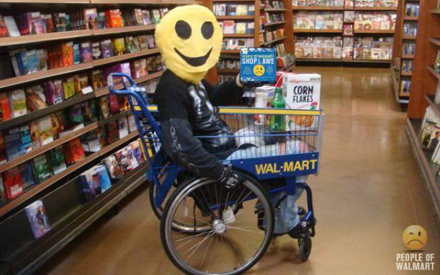 Najdziwniejsi klienci z WalMart #3 46