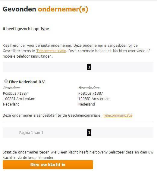 orderbevestiging voorbeeldbrief Fiber Nederland (voorheen Fype)   Radar   het consumentenprogramma  orderbevestiging voorbeeldbrief