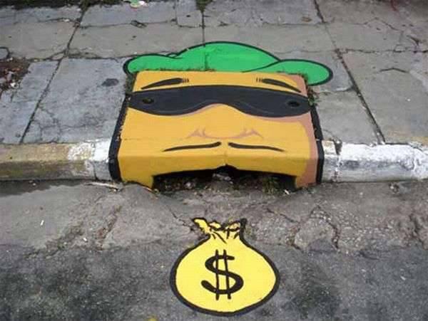 Street art - sztuka uliczna 17