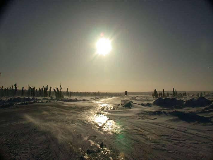 Kanadyjskie drogi lodowe 19