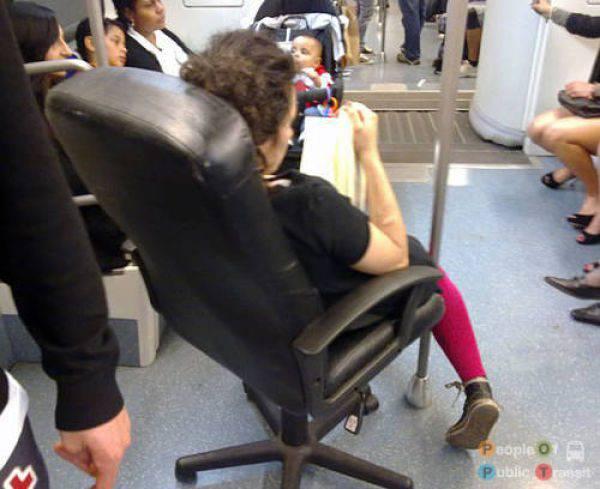 Najdziwniejsi pasażerowie 25