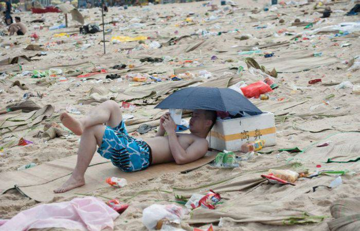 Na chińskiej plaży 13