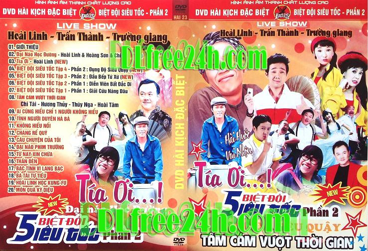Hài Kịch Đặc Biệt - Biệt Đội Siêu Tốc DVD5