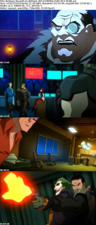 Batman Assault on Arkham 2014 DVDRip XviD AC3 ACAB