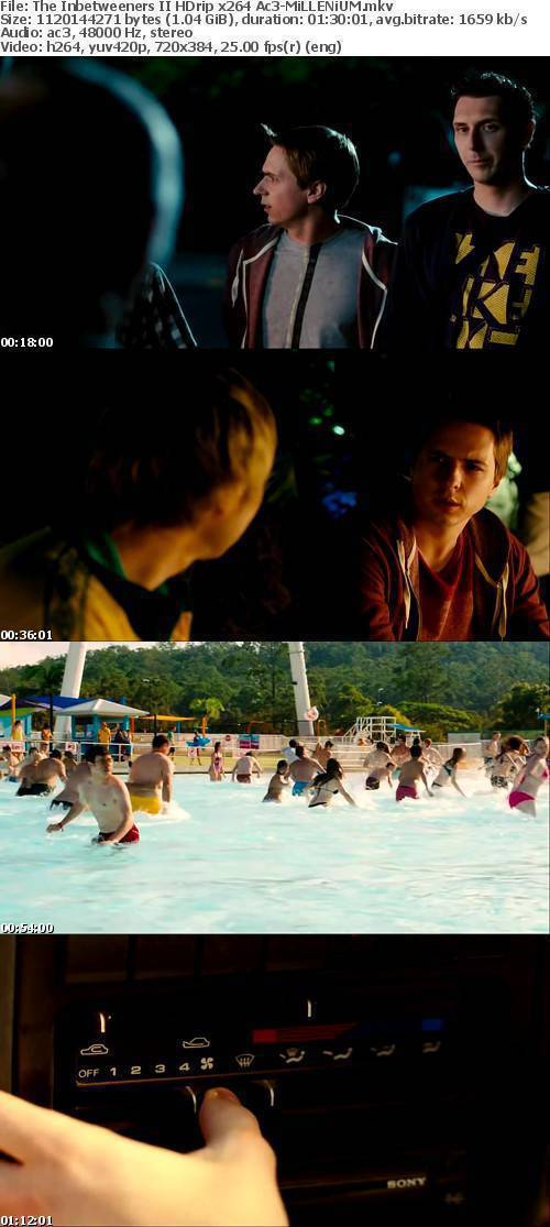 The Inbetweeners II HDrip x264 Ac3-MiLLENiUM