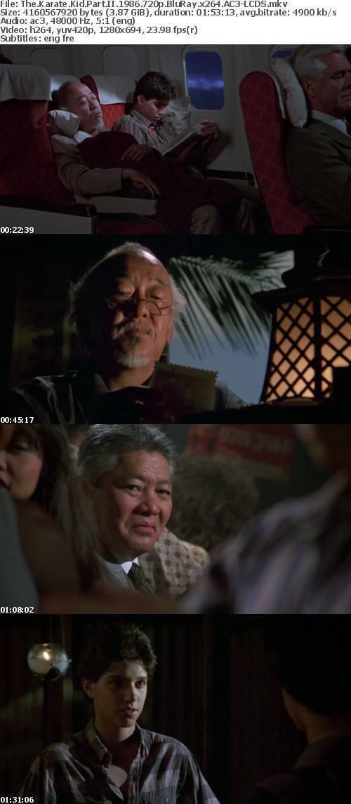 The Karate Kid Part II 1986 720p BluRay x264 AC3-LCDS