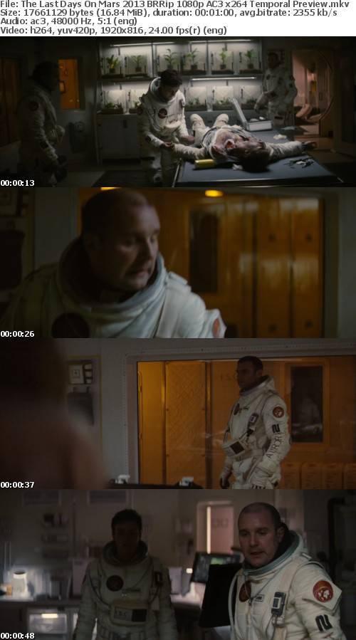 The Last Days On Mars 2013 BRRip 1080p AC3 x264 Temporal