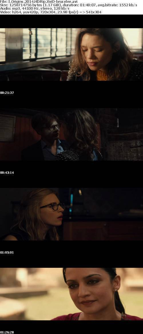 I Origins 2014 HDRip XviD-brucelee