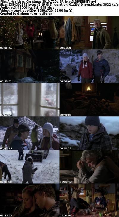 A Heartland Christmas (2010) 720p BRRip AC3-DiVERSiTY