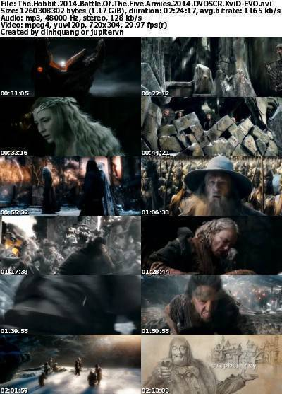 The Hobbit: The Battle of the Five Armies (2014) DVDSCR XviD-EVO