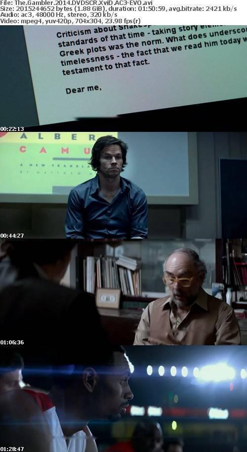 The Gambler 2014 DVDSCR XviD AC3-EVO