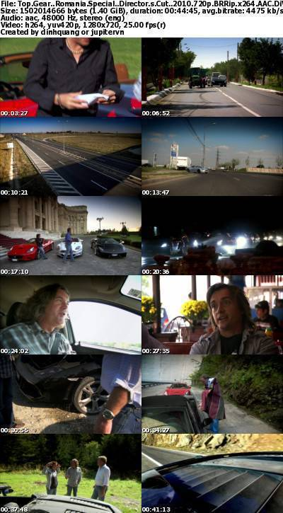 Top Gear - Romania Special: Director's Cut (2010) 720p BRRip x264 AAC-DiVERSiTY